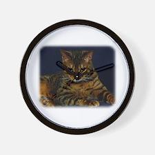 Bengal Cat 9W080D-128 Wall Clock
