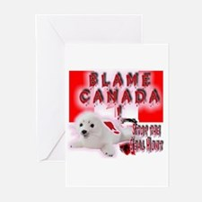 Blame Canada Greeting Cards (Pk of 10)