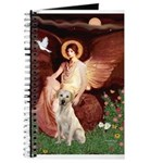 Seated Angel-Yellow Lab 7 Journal