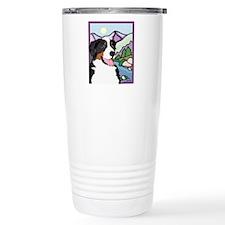 Bernese Mountain dog Home Dec Travel Mug