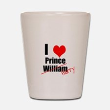 Royal Wedding Shot Glass
