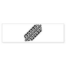Skidmark Tires Bumper Sticker