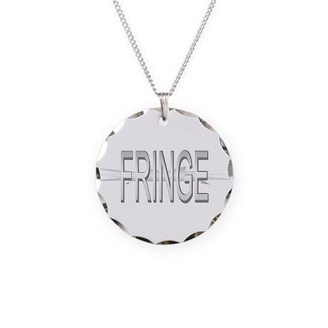 Fringe TV Show (Shiny) Necklace Circle Charm