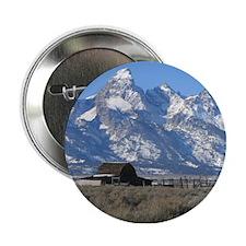 "Tetons Historic Barn 2.25"" Button"