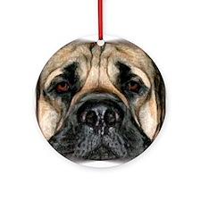 Mastiff 2 Ornament (Round)