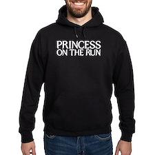 Princess on the run - white Hoodie