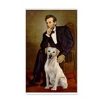 Lincoln-Yellow Lab 7 20x12 Wall Decal