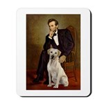 Lincoln-Yellow Lab 7 Mousepad