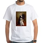 Lincoln-Yellow Lab 7 White T-Shirt