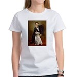 Lincoln-Yellow Lab 7 Women's T-Shirt