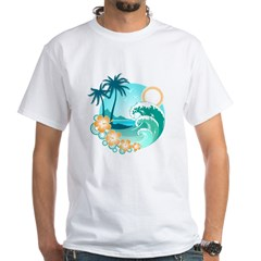 Tropical Design Shirt
