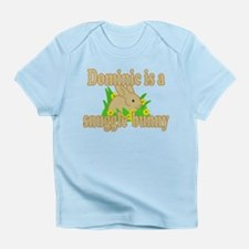 Dominic is a Snuggle Bunny Infant T-Shirt