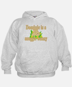 Dominic is a Snuggle Bunny Hoodie