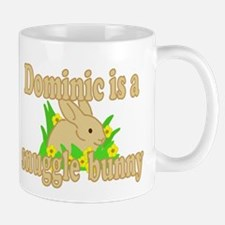 Dominic is a Snuggle Bunny Mug