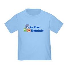 Baby Name Blocks - Dominic T