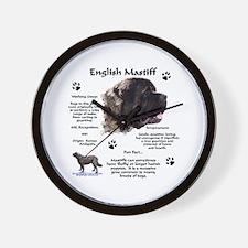 Fluffy Mastiff 23 Wall Clock