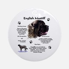 Fluffy Mastiff 23 Ornament (Round)