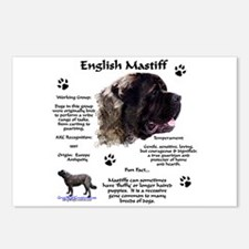 Fluffy Mastiff 23 Postcards (Package of 8)