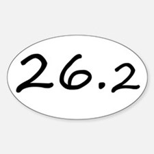 Gifts for Runners' Sticker (Oval)