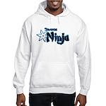 Shadow Ninja Blue Hooded Sweatshirt