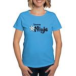 Shadow Ninja Blue Women's Dark T-Shirt