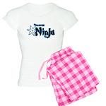 Shadow Ninja Blue Women's Light Pajamas