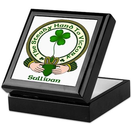 Sullivan Clan Motto 2 Keepsake Box