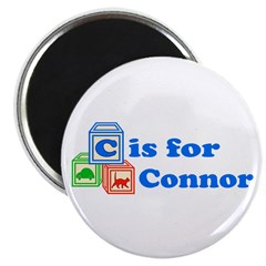 Baby Blocks Connor Magnet