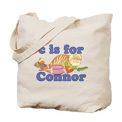 C is for Connor Tote Bag