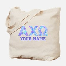 AlphaChiOmega Letters Personalized Tote Bag