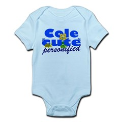 Cute Cole Infant Bodysuit