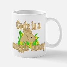 Cody is a Snuggle Bunny Mug