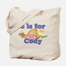 C is for Cody Tote Bag
