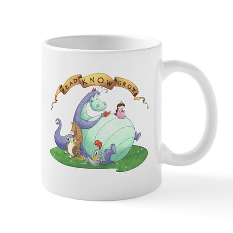 Dragon Reads Mug