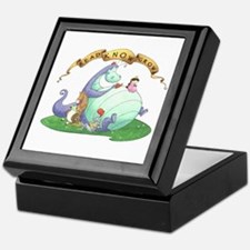 Dragon Reads Keepsake Box