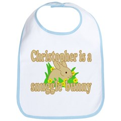 Christopher is a Snuggle Bunny Bib