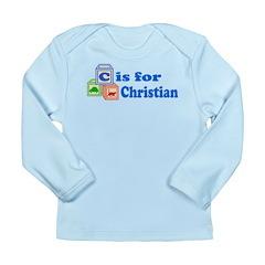 Baby Blocks Christian Long Sleeve Infant T-Shirt
