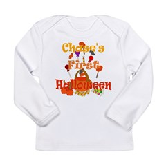First Halloween Chase Long Sleeve Infant T-Shirt