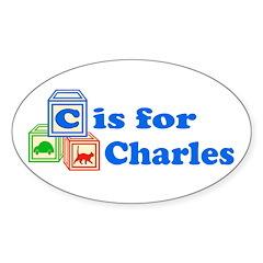 Baby Blocks Charles Decal