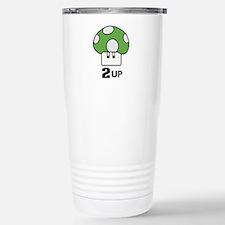 2 Up mushroom Travel Mug
