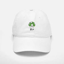 2 Up mushroom Baseball Baseball Cap