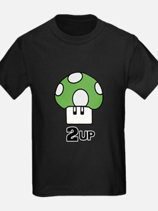 2 Up mushroom T