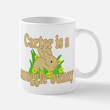 Carter is a Snuggle Bunny Mug
