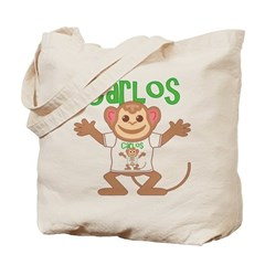 Little Monkey Carlos Tote Bag