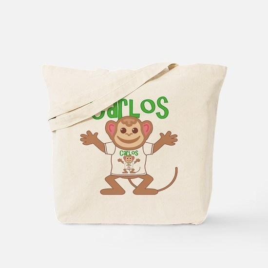 Little Monkey Carlos Tote Bag
