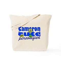 Cute Cameron Tote Bag