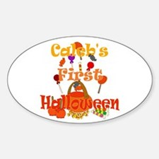 First Halloween Caleb Decal