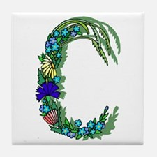 "Bouquet ""C"" Tile Coaster"