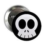 "SkullSpace Cute Skull 2.25"" Button (100 pack)"