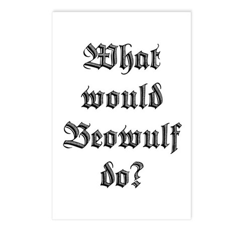 What Would Beowulf Do? Postcards (Package of 8)